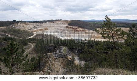 Limestone Mine, Koneprusy, Czech Republic