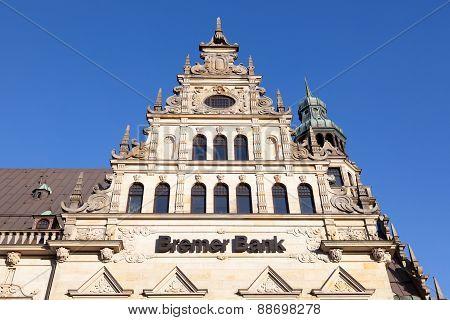 Bremer Bank Office In Bremen