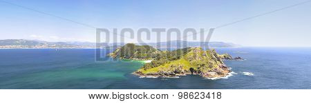 Islands Cies In Vigo, Spain.