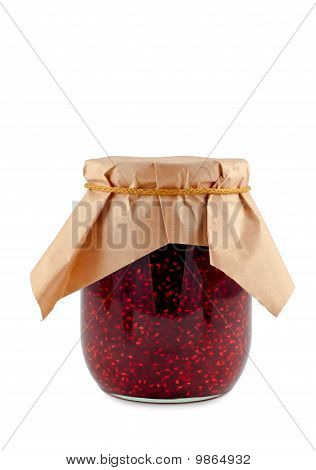 Jam Isolated On White Background.