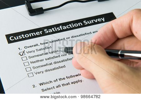 Customer Satisfactory Survey