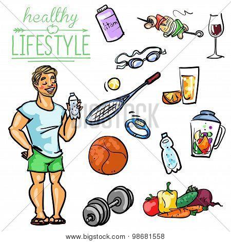 Healthy Lifestyle - Man