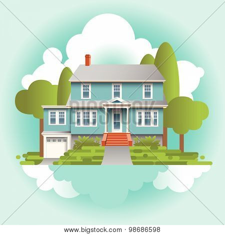 A Stylized Quaint Home