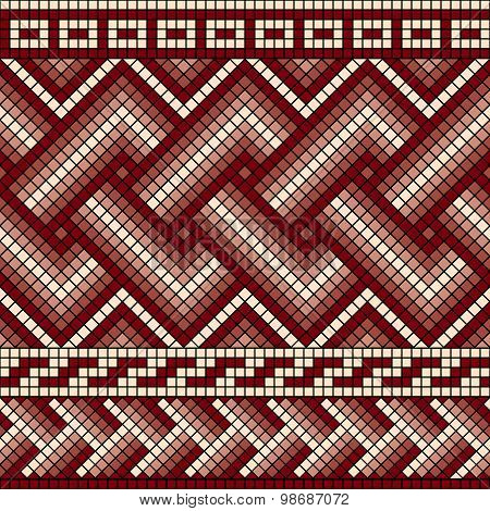 Greek Seamless Mosaic