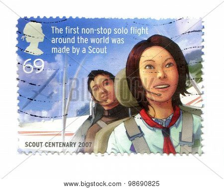 Scout Centenary Stamp