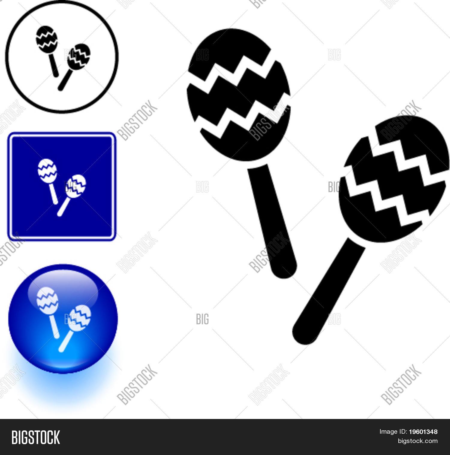 Maracas Musical Vector Photo Free Trial Bigstock