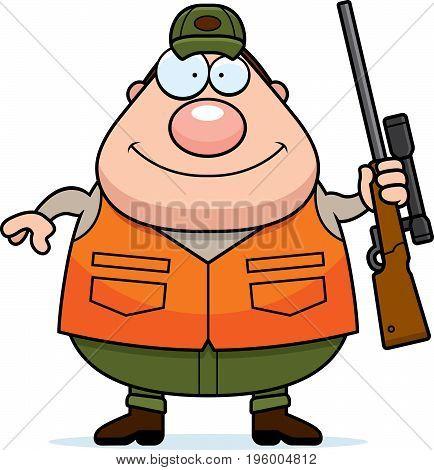 Cartoon Hunter Rifle