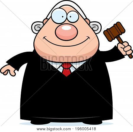 Cartoon Judge Gavel