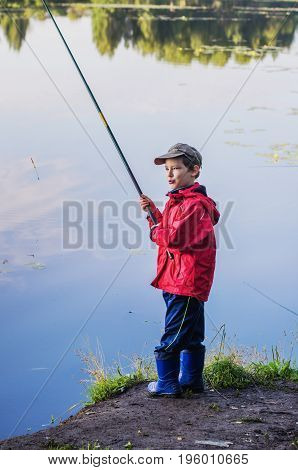 Summer Fishing On The Pond
