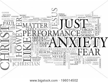 A LESSON FROM THE PAST PRESS ON TEXT WORD CLOUD CONCEPT