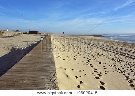 Barra Beach, Aveiro, Portugal