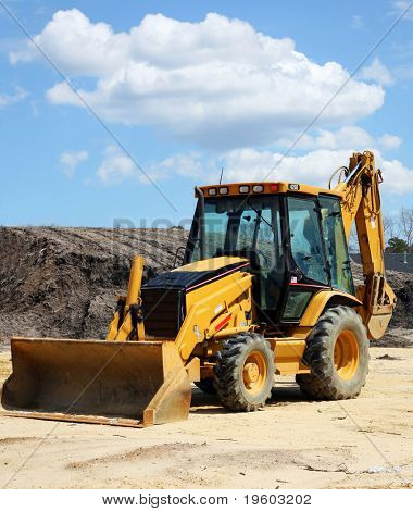 construction equipment bulldozer