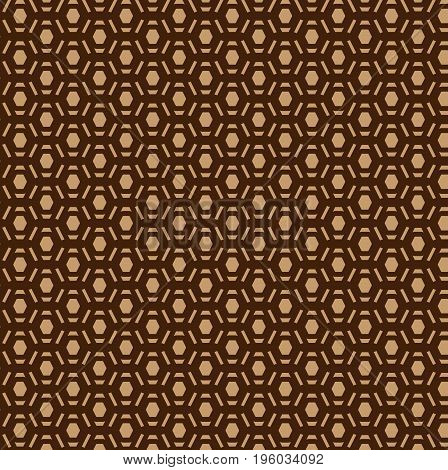 Abstract brown pattern - vector illustration , Vector brown background