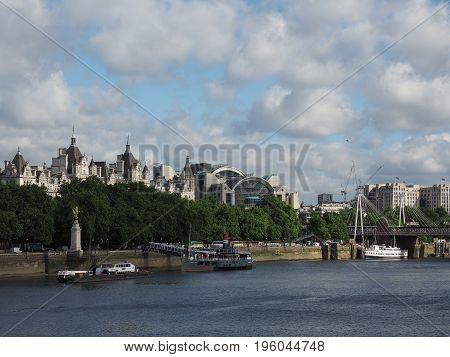 River Thames In London