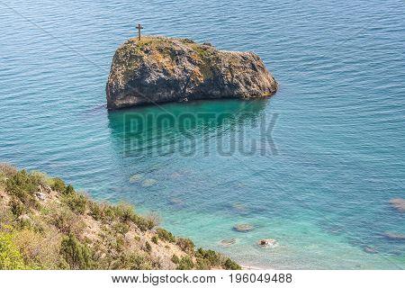 The Coast Of The Black Sea Near Cape Fiolent