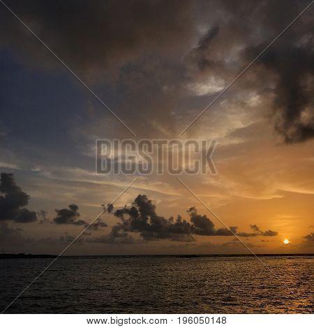 Tropical Sunrise in San Juan, Puerto Rico