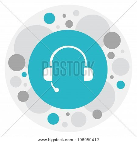 Vector Illustration Of Song Symbol On Studio Device Icon