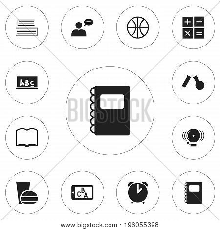Set Of 12 Editable Teach Icons. Includes Symbols Such As Thinking Man, Ring, Phial And More