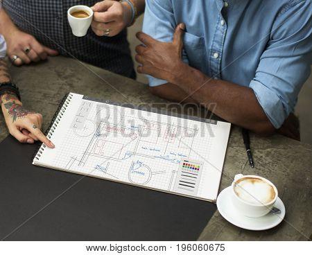 Floor Plan Brainstorming Ideas Sharing