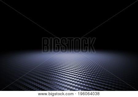 classic carbon fiber texture 3d rendering image