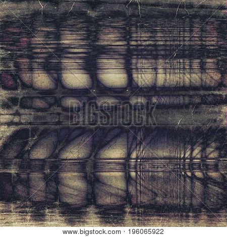 Vintage design background - Grungy style ancient texture with different color patterns: yellow (beige); purple (violet); brown; gray; blue; black