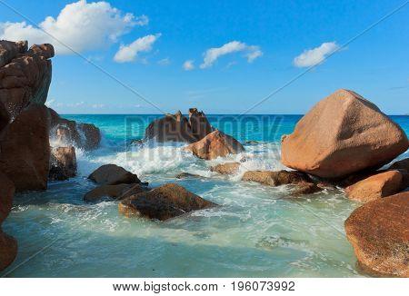 Magnificent Seychelles LaDigue Stones