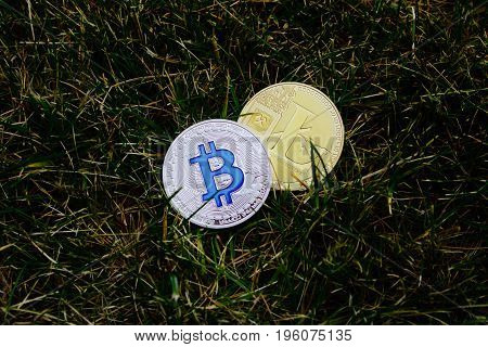 Silver Bitcoin And Gold Litecoin