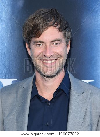 LOS ANGELES - JUL 12:  Mark Duplass arrives for the Season 8 premiere of HBO's 'Game of Thrones' on July 12, 2017 in Los Angeles, CA