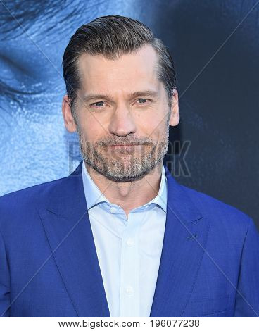LOS ANGELES - JUL 12:  Nikolaj Coster-Waldau arrives for the Season 8 premiere of HBO's 'Game of Thrones' on July 12, 2017 in Los Angeles, CA