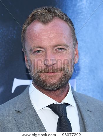 LOS ANGELES - JUL 12:  Richard Dormer arrives for the Season 8 premiere of HBO's 'Game of Thrones' on July 12, 2017 in Los Angeles, CA
