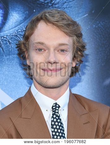 LOS ANGELES - JUL 12:  Alfie Allen arrives for the Season 8 premiere of HBO's 'Game of Thrones' on July 12, 2017 in Los Angeles, CA