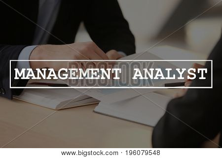 Concept of management analyst. People discussing business strategy in office, closeup