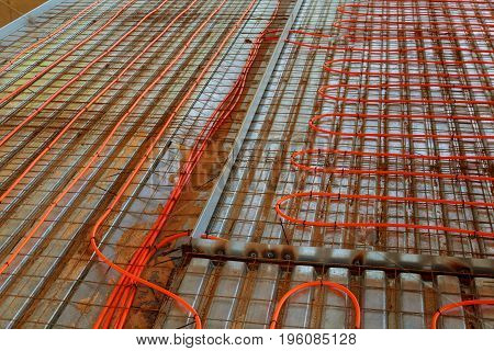 New Floor Heating System