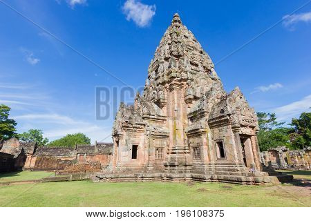 Prasat Hin Phanom Rung Ancient Khmer Temple Buriram Province of Thailand
