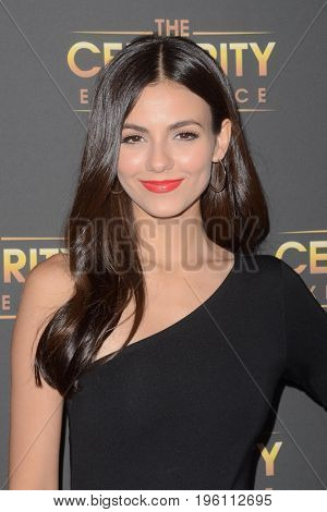 LOS ANGELES - July 16:  Victoria Justice at the Victoria Justice at The Celebrity Experience at the Universal Hilton on July 16, 2017 in Universal City, CA
