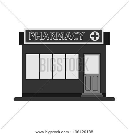 Pharmacy pharmacy icon. Flat design vector illustration vector.