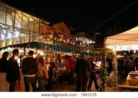 Covent Garden Night Market, London