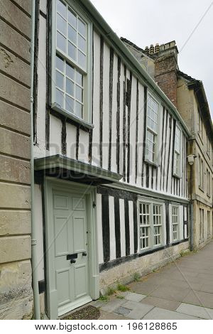 The Woodhouse St Mary Street Chippenham 15th century Grade II listed building