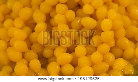 Thai dessert made from egg yolks and sugar;traditional food