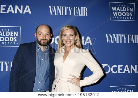 LOS ANGELES - July 17:  Paul Scheer, June Diane Raphael at the Oceana Presenst: Rock Under The Stars With Don Henley And Friends at the Private Residence on July 17, 2017 in Los Angeles, CA