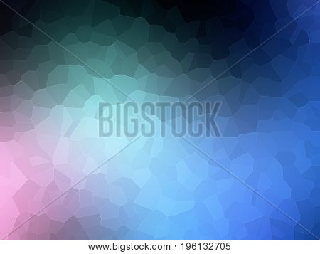 Blue Background Abstract Geometric Design Graphic Soft