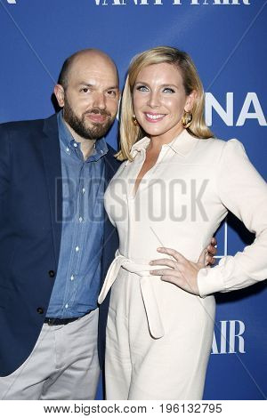 LOS ANGELES - July 17:  Paul Scheer, June Diane Raphael at the Rock Under The Stars With Don Henley And Friends at a Private Residence on July 17, 2017 in Los Angeles, CA
