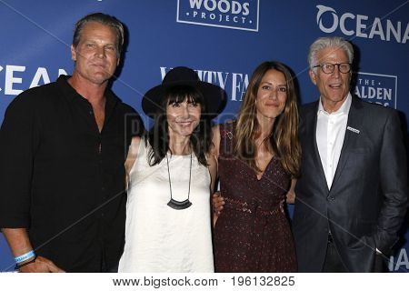 LOS ANGELES - July 17:  Brian Van Holt, Mary Steenburgen, Guest, Ted Danson at the Rock Under The Stars With Don Henley And Friends at the Private Residence on July 17, 2017 in Los Angeles, CA
