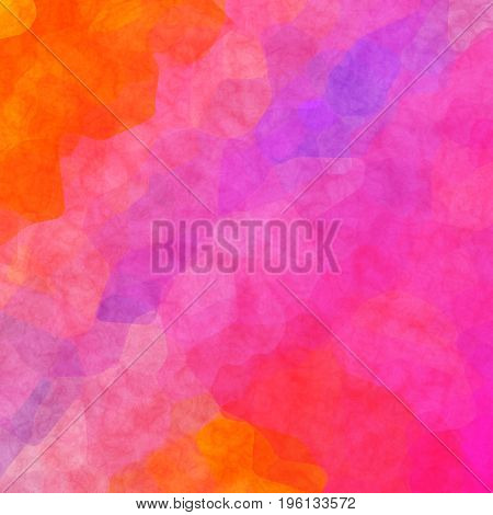 Interesting Uneven Colorful Background Texture With Pink Orange Colors Blend