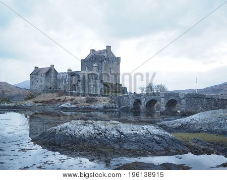 Eilean Donan castle, the most beautiful one in Scotland