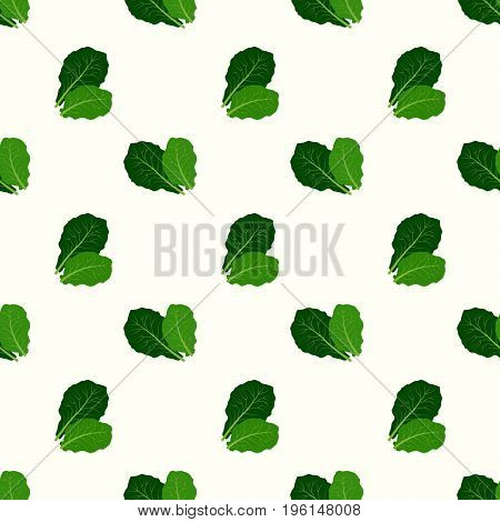 Seamless Background Image Colorful Vegetable Food Ingredient Collards
