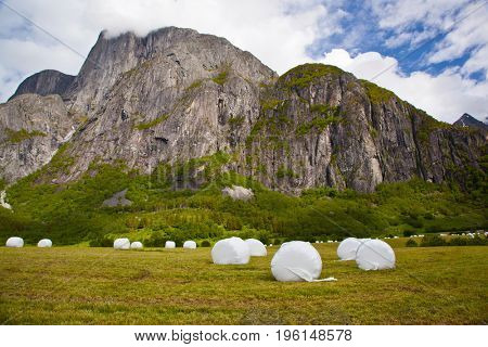 norwegian mountain landscape near Eikesdalen