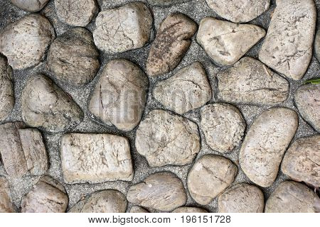 Texture of stone floor for use as background.