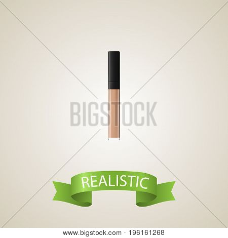 Realistic Concealer Element. Vector Illustration Of Realistic Cover Isolated On Clean Background