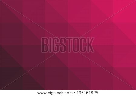 Triangular red black gradient background. Lowpolygonal. Vector illustration. White background. Eps10.